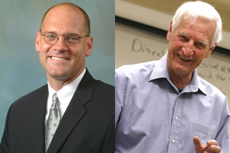 Dr. Jon Pahl and Dr. John Raines