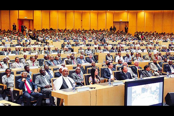 About 2,500 academics and top state officials gathered in a symposium on the Hizmet movement and the concept of dialogue held in Ethiopia on Wednesday. (Photo: Today's Zaman)
