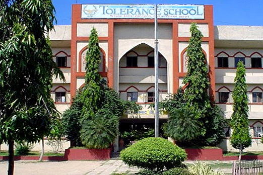 Front side view of Filipino-Turkish Tolerance High School in Zamboanga City