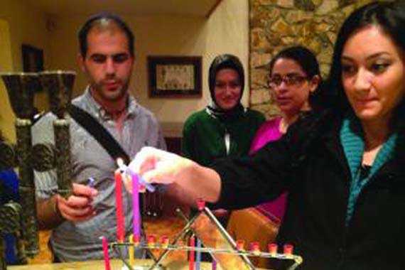 Jewish and Turkish Muslim members of Young Peace Buildings have bonded through joint religious and educational programs.