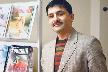Fountain Editor-in-Chief Hakan Yeşilova (Photo: Today's Zaman, Kürşat Bayhan)