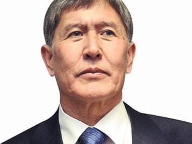 Kyrgyz Prime Minister Almazbek Atambayev speaks about the importance of Turkish educational institutions in the country
