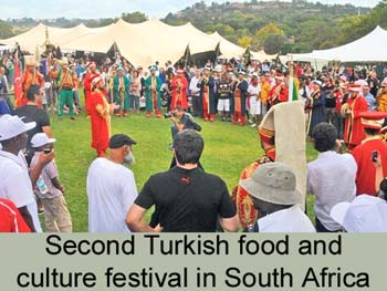 Second Turkish food and culture festival held in South Africa