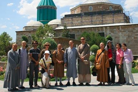 CBSAA visits Rumi's tomb in Konya