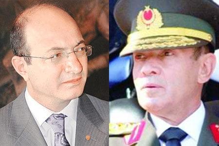 CHP Denizli deputy İlhan Cihaner and retired Gen. Saldıray Berk