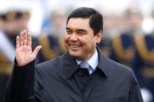 Turkmen President Gurbanguli Berdimuhammedov