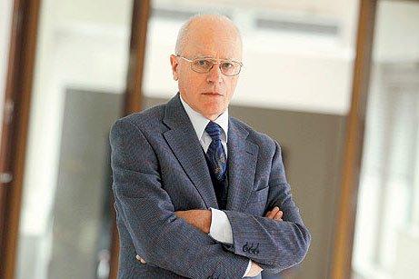 Professor Hans Köchler from Austria, the president of the International Progress Organization. (Photo: Today's Zaman, Turgut Engin)