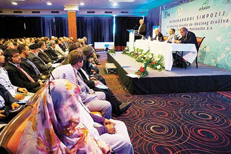 Conference on Prophet's thoughts on ideal society held in Sarajevo