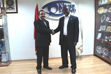 Governor of Mogadishu Mr. Muhammed Ahmed Nur