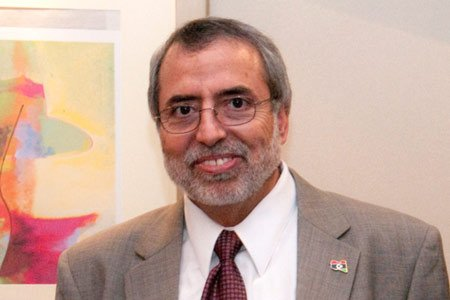 Libya's minister of higher education Naim Ghariani