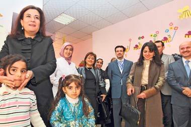 Education Minister of Turkey Nimet Çubukçu
