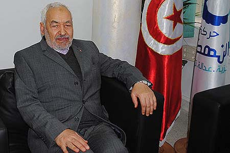 Rachid Ghannouchi (Photo: Cihan)