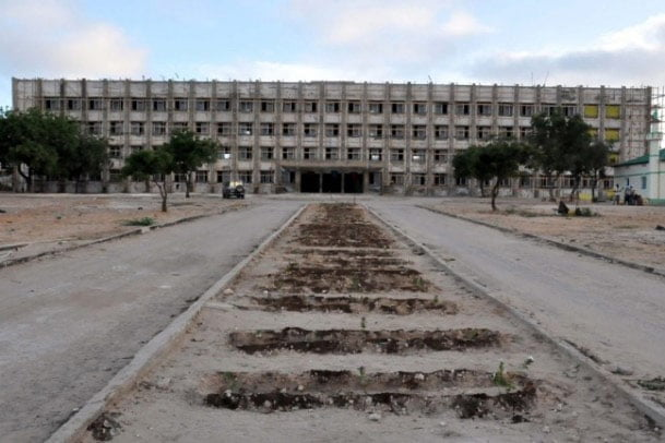 The old Technical University (Photo credit: Anadolu Agency)