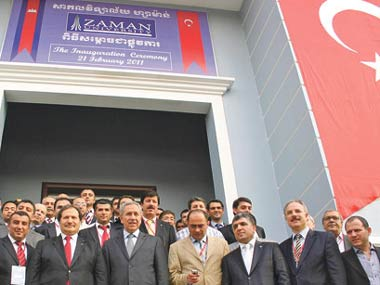 Zaman University was opened in Cambodia, a country with a 14-year history of Turkish education