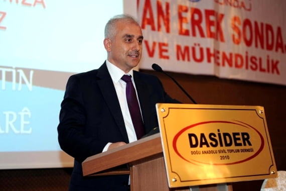 """Yeşil said, """"We believe that the Alevis, Kurds and Circassians of these lands belong with us. The notion of 'we' is sufficient to describe all of us. It is always possible to grow together and to share every opportunity, based on justice and human rights."""""""