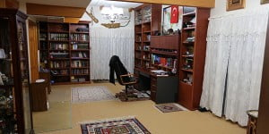 The room where Gülen stays in a social facility that belongs to the Golden Generation Worship & Retreat Center in Pennsylvania.