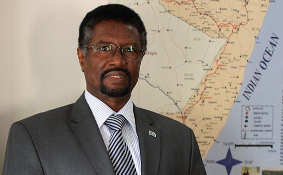 Somalian Ambassador to Ankara, H.E. Mohamed Mursal Sheikh