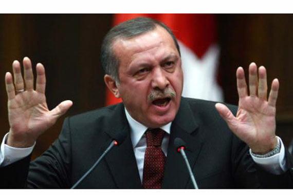 The Turkish Prime Minister Recep Tayyip Erdoğan