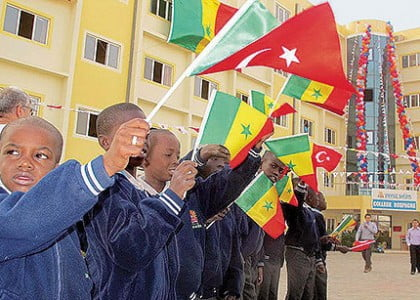 Senegalese deputies say Turkish schools taught them fraternity