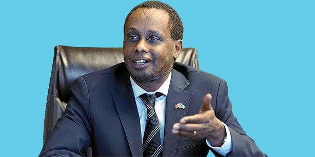 Rwandan ambassador to Turkey, Lt. Gen. Caesar Kayizari