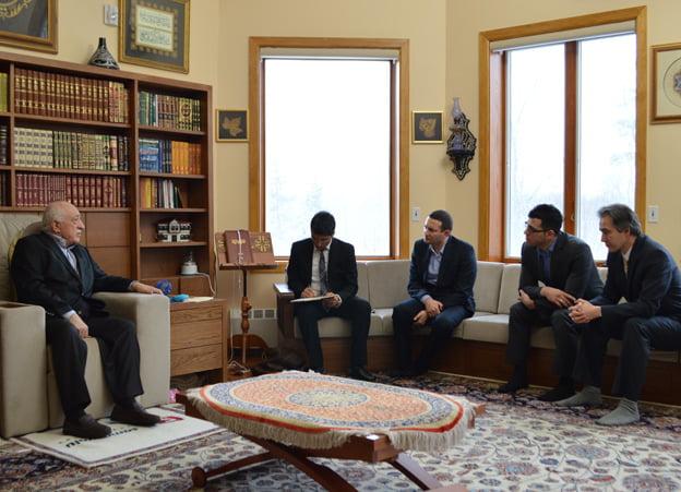 Mr Gulen was also interviewed by the BBC Turkish Service