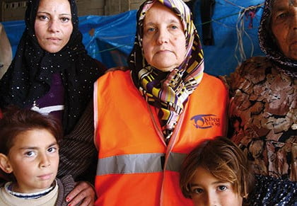 Kimse Yok Mu extends hand to Syrian refugees