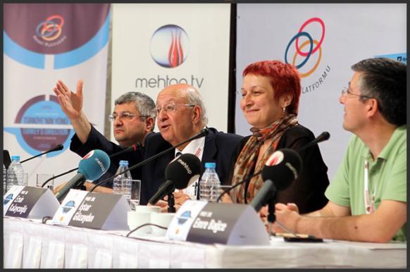 The 33rd Abant Platform meeting was held in Akçakoca, Bolu province, to discuss