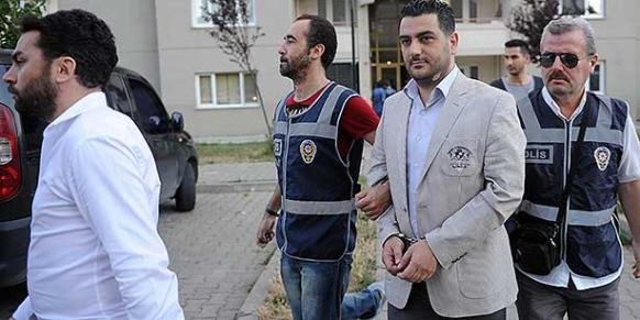 Dozens of police officers were detained as part of a police operation apparently targeting members of the