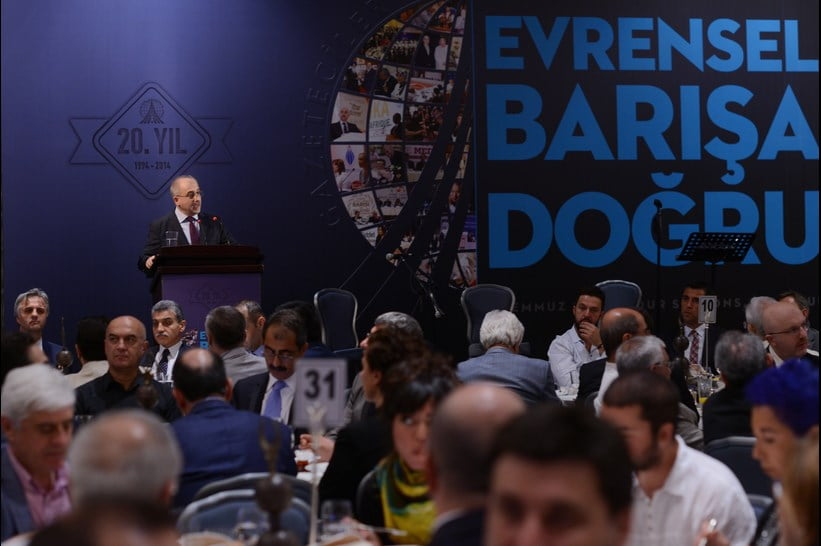 GYV President  Yeşil said for 20 years since its establishment, the GYV has strived to emphasize living together in peace, pluralistic democracy, human rights and freedoms, and the rule of law.
