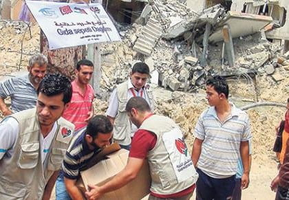Turkish charity calls for increased aid to Gaza