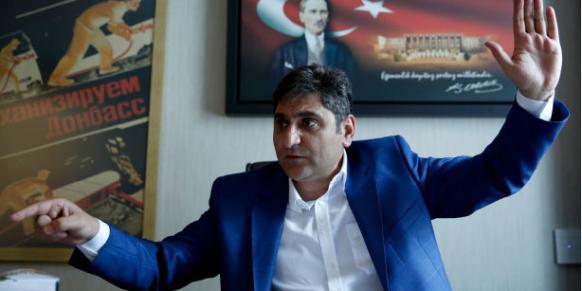 Aykut Erdoğdu (Photo: Sunday's Zaman)