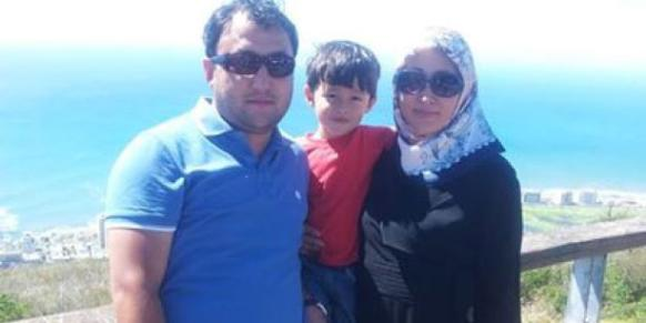 Mongolian teacher Galimbek Sharivkhan (L) died in a car accident in South Africa on Saturday.(Photo: Today's Zaman)