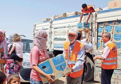 Kimse Yok Mu delivers humanitarian assistance to Yazidis, Turkmens