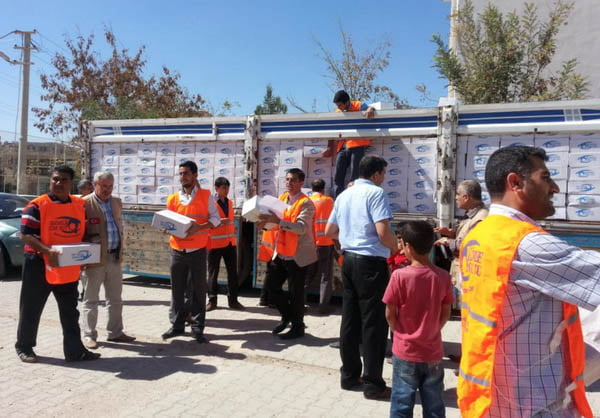 Kimse Yok Mu lends helping hand to 15,000 Syrians in Suruç