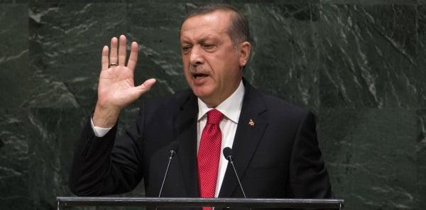 Turkey's powerful president Recep Tayyip Erdogan