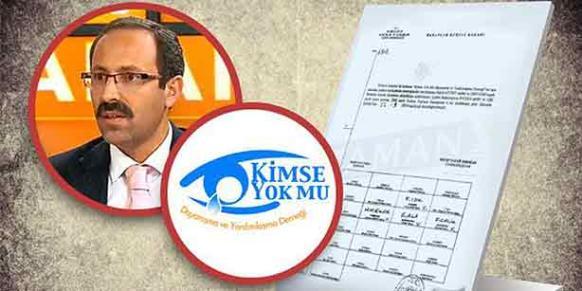 Boğaziçi Lawyers' Association President Bilal Çalışır says there was no signature on the copy of the Cabinet decision sent to the Kimse Yok Mu. (Collage: Today's Zaman)