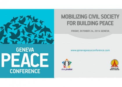 A Peace Conference to be held at UN in Geneva