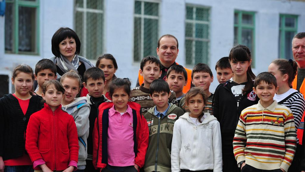 Orphanages in Moldova are in the hope that donations by the Turkish people through Kimse Yok Mu continue without interruption.