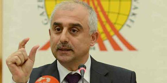 Journalists and Writers Foundation (GYV) Chairman Mustafa Yeşil. (Photo: Cihan)