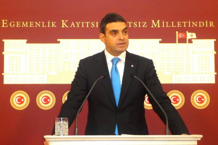 Republican Peoples' Party (CHP) Deputy Umut Oran