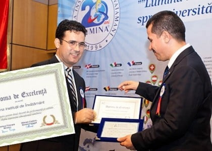 Turkish schools in Romania awarded with certificate of excellence