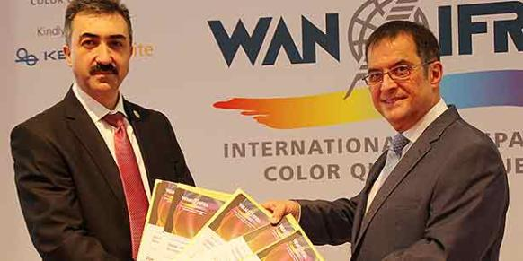 The Zaman and Today's Zaman dailies, as well as three Zaman supplements, received perfection awards from the World Association of Newspapers and News Publishers (WAN-IFRA). (Photo: Cihan)