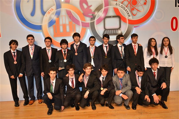 The Private Fatih Science High School, Samanyolu Science High School, Yamanlar Science High School and Atlantik School picked up jointly 64 medals on Wednesday at the 22nd National Science Olympiad and the 19th National Mathematics Olympiad for primary and secondary schools.