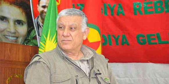 Cemil Bayık, president of the Kurdistan Communities' Union (KCK) executive council, told Yurt daily on Monday that he blames Erdoğan and the government for the failure of the settlement process. (Photo: DHA)