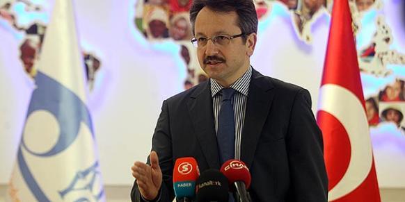 İsmail Cingöz, the president of the charity Kimse Yok Mu (Photo: Today's Zaman)
