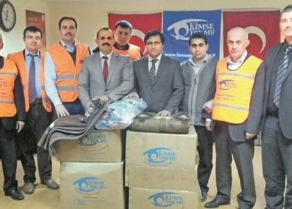 Kimse Yok Mu continues relief efforts in Gaza