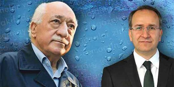 Turkish Islamic Scholar Fethullah Gülen (L) is pictured with his lawyer,Nurullah Albayrak, in this collage prepared by Today's Zaman.