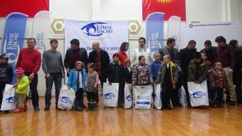 Kimse Yok Mu caring for Kyrgyz orphans