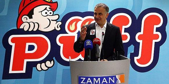 Zaman Media Group CEO Ekrem Dumanlı introduced Püff magazine at a gala reception at the Zaman headquarters in İstanbul on Friday. (Photo: Today's Zaman, Şule Tülin Üner)