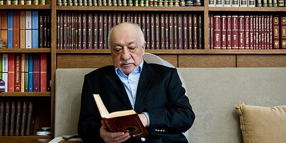 Fethullah Gülen (Photo: Today's Zaman, Selahattin Sevi)